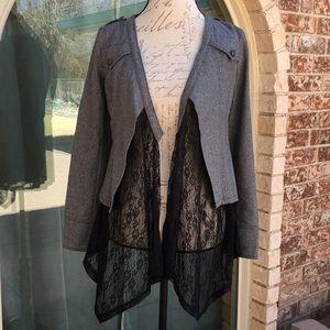 Ryu Lace And Wool Jacket